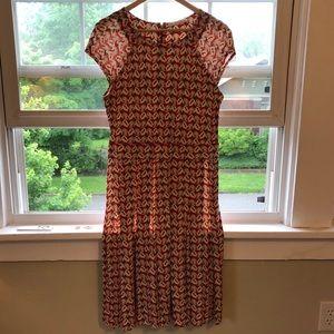 Tory Burch Silk Jersey Sophia Dress